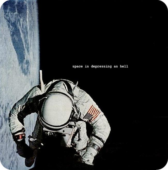 space is depressing