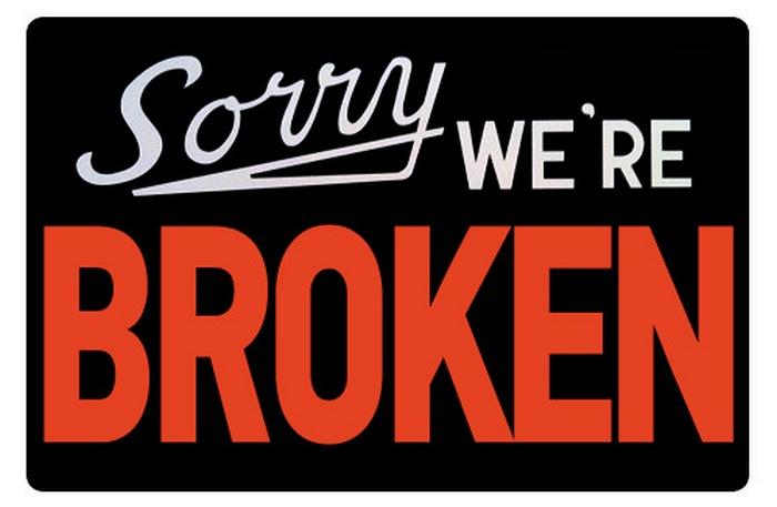 Sorry Broken