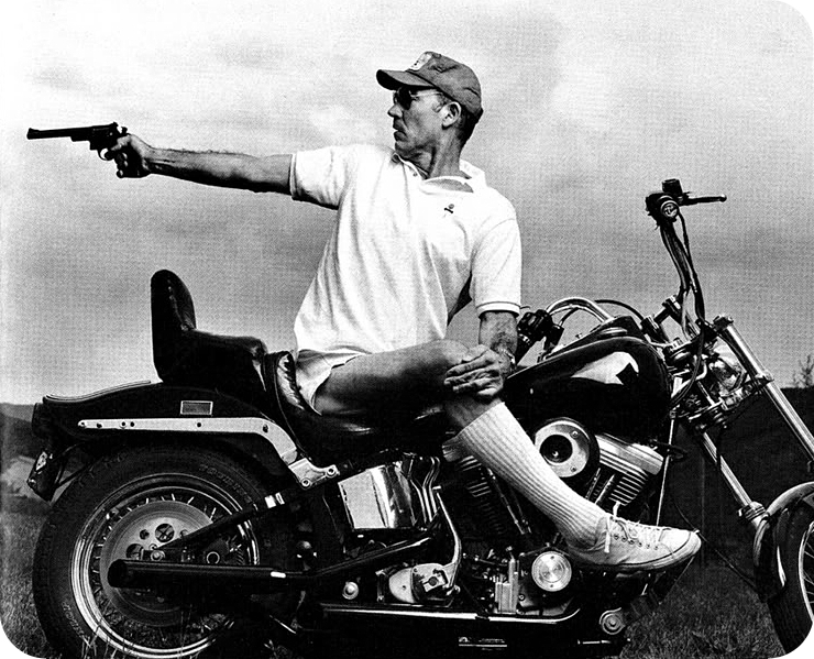 Hunter S Thompson Gun Cycle